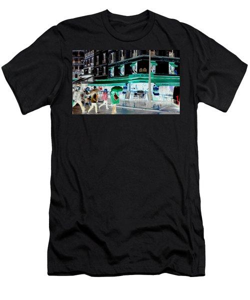 Fluidity In Motion  Men's T-Shirt (Slim Fit) by Richard Rosenshein