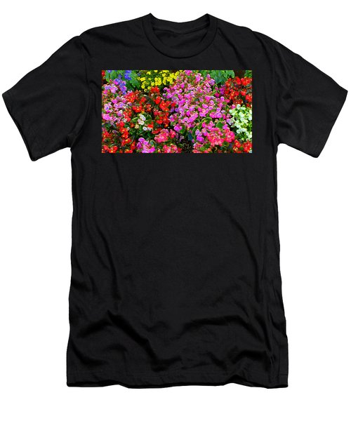 Flwrs Test 1 Men's T-Shirt (Athletic Fit)