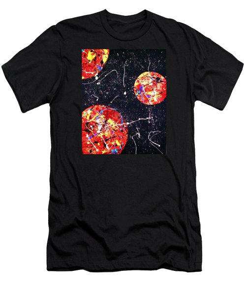 Fly Me To The Moon Men's T-Shirt (Slim Fit)