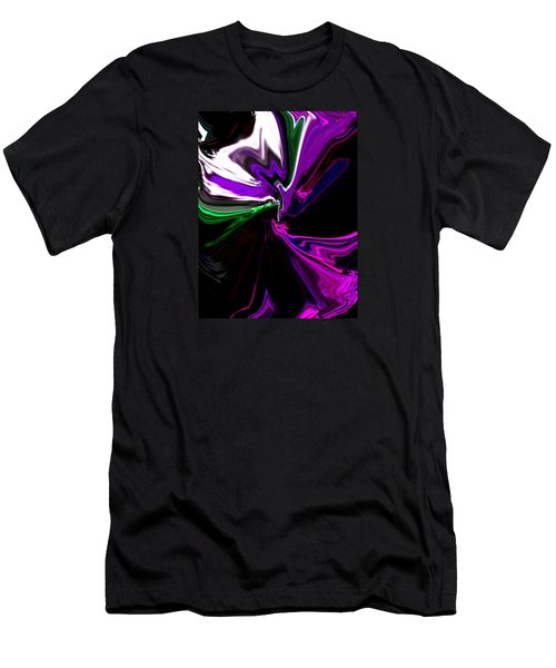 Purple Rain Homage To Prince Original Abstract Art Painting Men's T-Shirt (Athletic Fit)