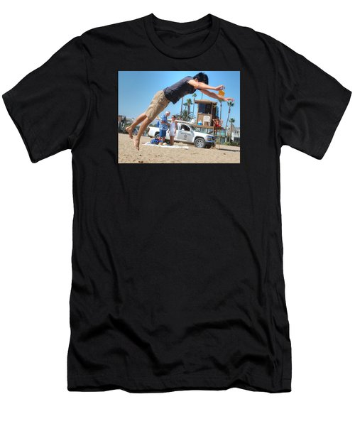 Flying Tourist Men's T-Shirt (Athletic Fit)