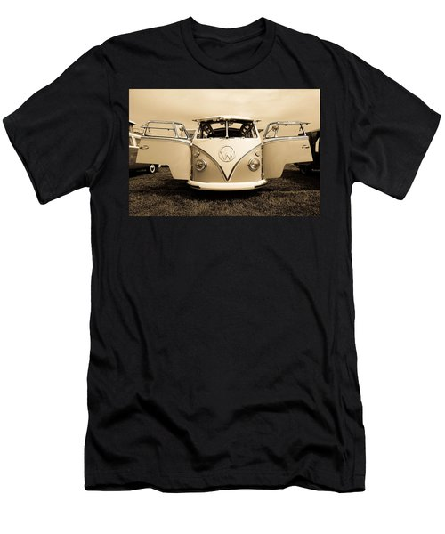 Flying Vw Bus Men's T-Shirt (Athletic Fit)
