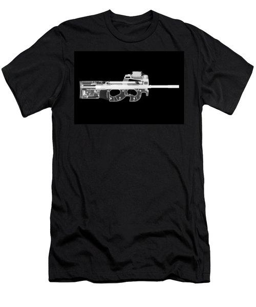 Fn Ps90 Reverse Men's T-Shirt (Athletic Fit)