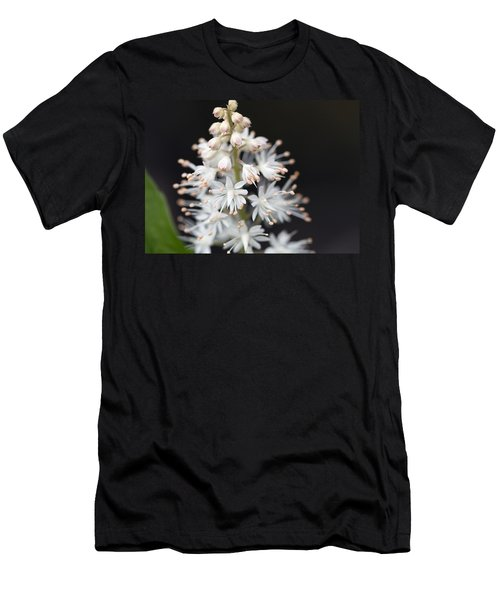 Foam Flower Men's T-Shirt (Slim Fit) by Melinda Fawver