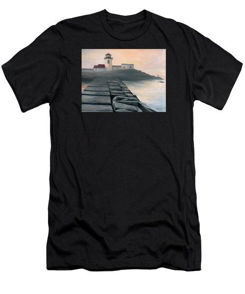 Fog Burning Off Men's T-Shirt (Athletic Fit)