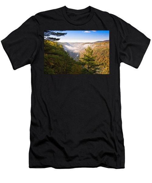 Fog Over The Canyon Men's T-Shirt (Athletic Fit)