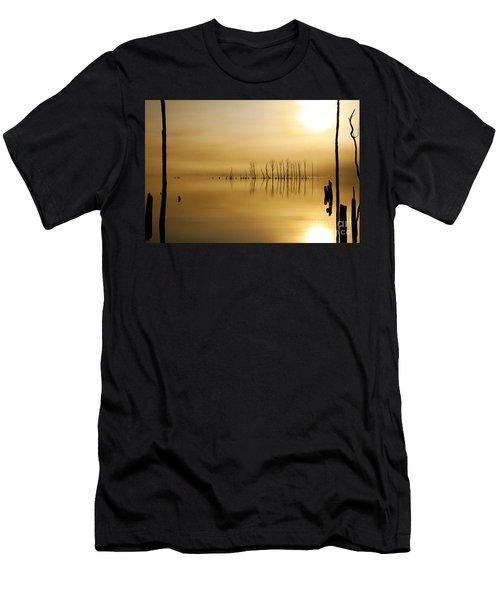 Foggy Rise Men's T-Shirt (Athletic Fit)