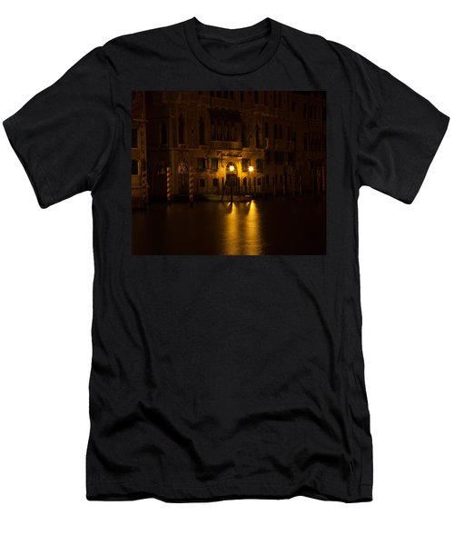 Follow Me Across The Water And Time Men's T-Shirt (Athletic Fit)