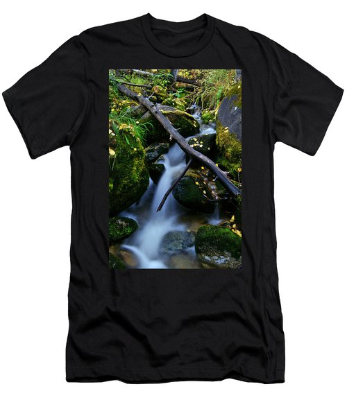 Men's T-Shirt (Slim Fit) featuring the photograph Follow Me by Jeremy Rhoades