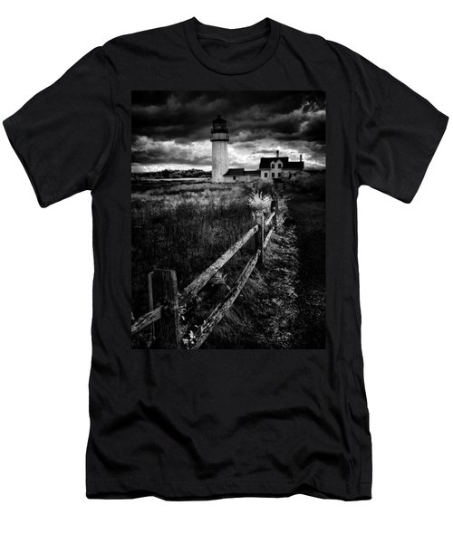 Follow Me Men's T-Shirt (Slim Fit) by Robert McCubbin