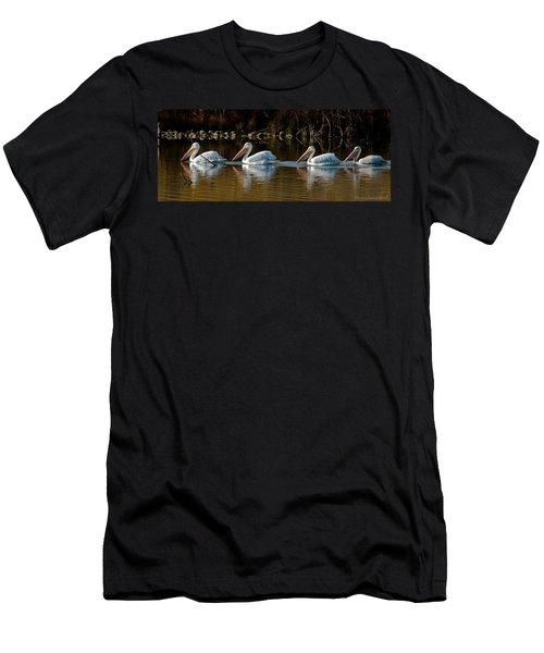 Follow The Leader Men's T-Shirt (Athletic Fit)