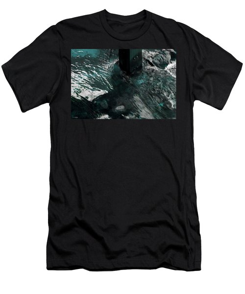 Men's T-Shirt (Slim Fit) featuring the photograph Follow The Tao by Lauren Radke
