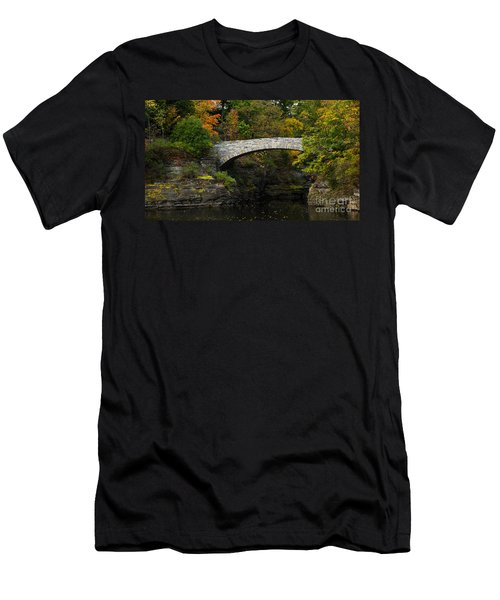 Foot Bridge At Beebe Lake Men's T-Shirt (Athletic Fit)