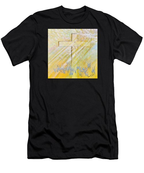 For The Cross Men's T-Shirt (Athletic Fit)