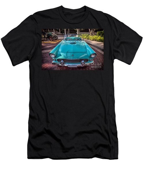 Ford Thunderbird  Men's T-Shirt (Slim Fit) by Adrian Evans