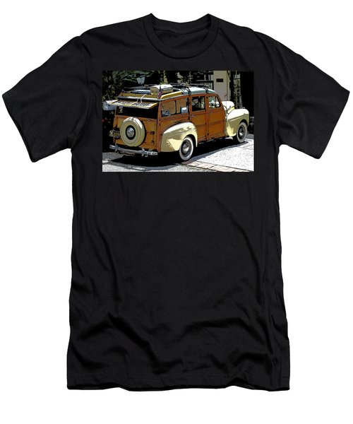 Ford Woodie Men's T-Shirt (Athletic Fit)