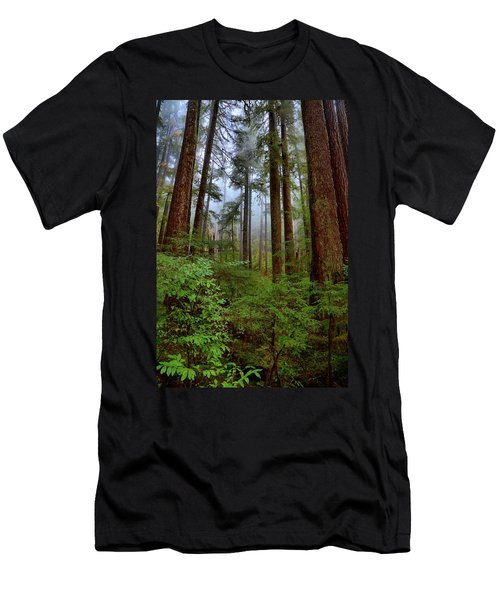 Forest Mist Men's T-Shirt (Athletic Fit)
