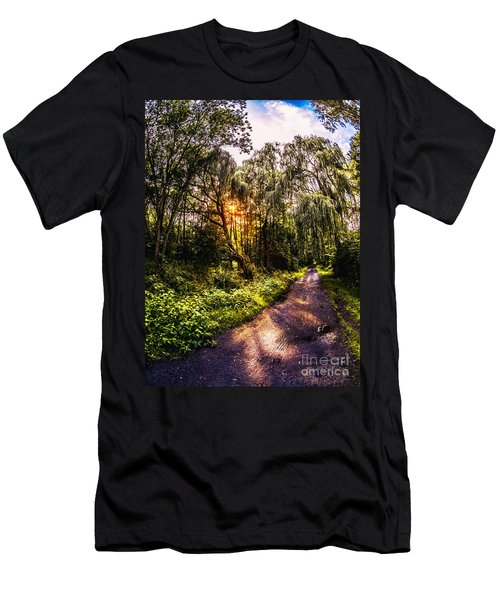 Forest Track Men's T-Shirt (Athletic Fit)