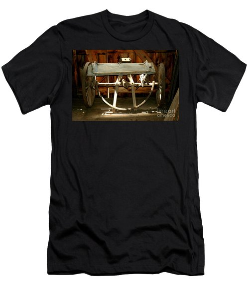 Men's T-Shirt (Athletic Fit) featuring the photograph Forgotten by Christiane Hellner-OBrien