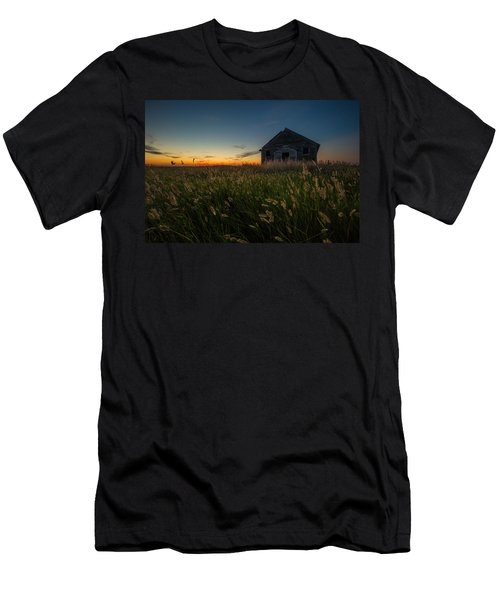 Forgotten On The Prairie Men's T-Shirt (Athletic Fit)