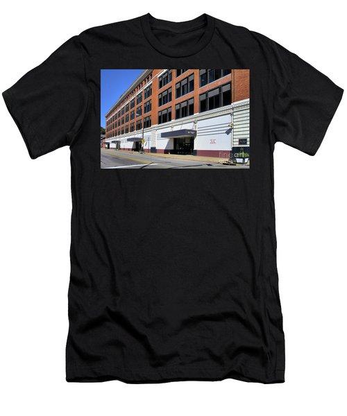 Former Penn Traffic Bldg - Johnstown Pa Men's T-Shirt (Athletic Fit)