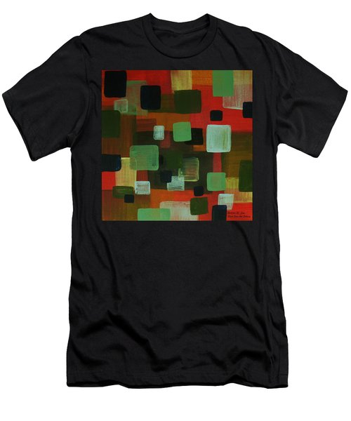 Forms Men's T-Shirt (Slim Fit) by Barbara St Jean