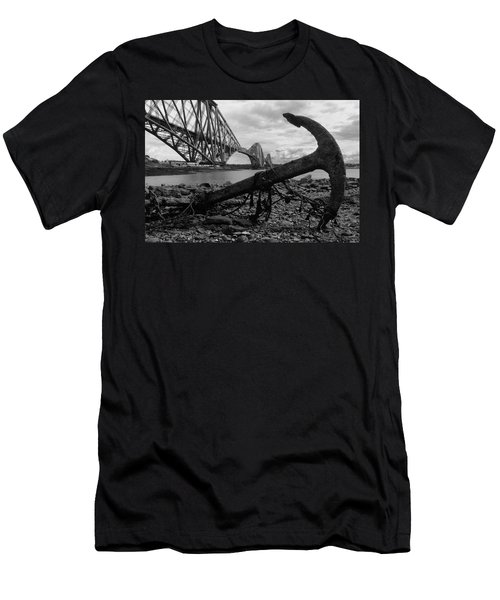 Forth Bridge Anchor Men's T-Shirt (Athletic Fit)