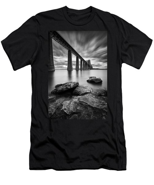 Forth Bridge Men's T-Shirt (Athletic Fit)