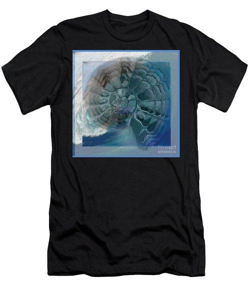 Fossil Ocean Men's T-Shirt (Athletic Fit)