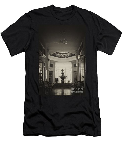Fountain In The Light Men's T-Shirt (Athletic Fit)