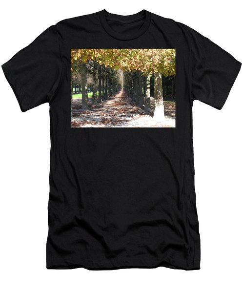 Fountainebleau - Under The Trees Men's T-Shirt (Slim Fit) by HEVi FineArt