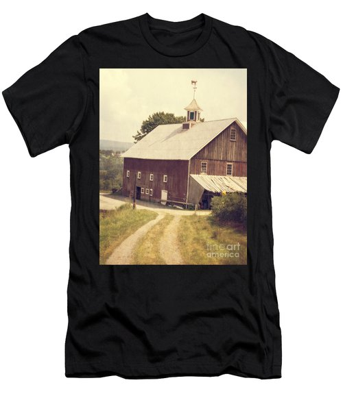 Four Corners Farm Vermont Men's T-Shirt (Athletic Fit)