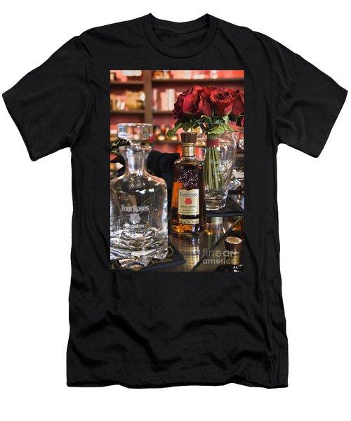 Four Roses Single Barrel - D008612 Men's T-Shirt (Athletic Fit)