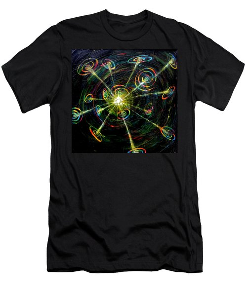 Fourth Day Of Creation Men's T-Shirt (Athletic Fit)