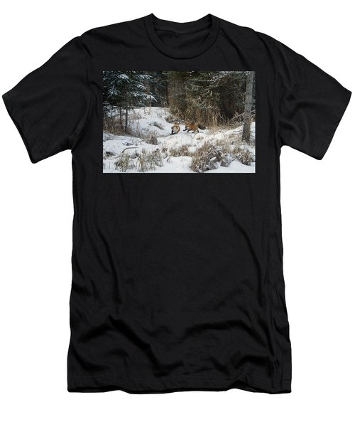 Fox Hollow Men's T-Shirt (Slim Fit) by Jack Bell