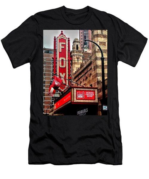 Fox Theater - Atlanta Men's T-Shirt (Slim Fit) by Robert L Jackson