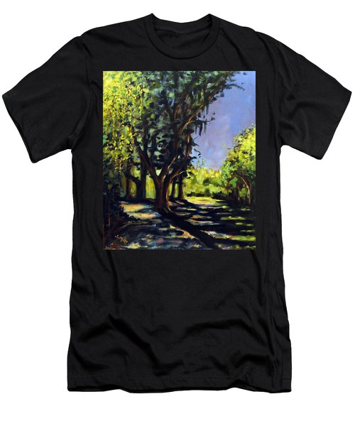 Foxgrapes And A Sandy Road Men's T-Shirt (Athletic Fit)