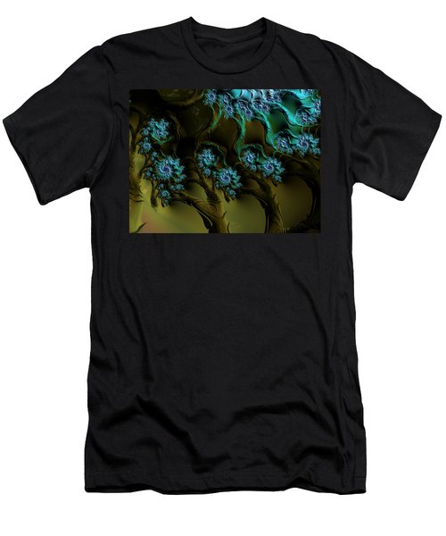 Fractal Forest Men's T-Shirt (Athletic Fit)