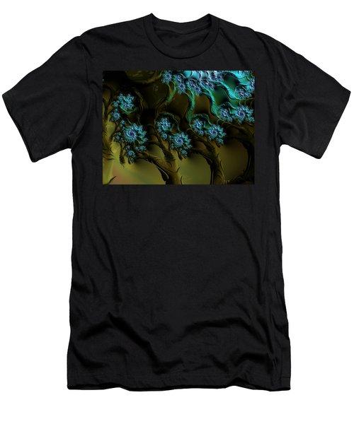 Fractal Forest Men's T-Shirt (Athletic Fit)