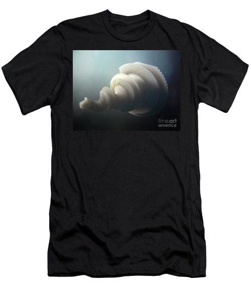 Fractal Seashell  Men's T-Shirt (Athletic Fit)