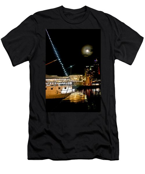 Men's T-Shirt (Slim Fit) featuring the photograph Fragata  by Silvia Bruno
