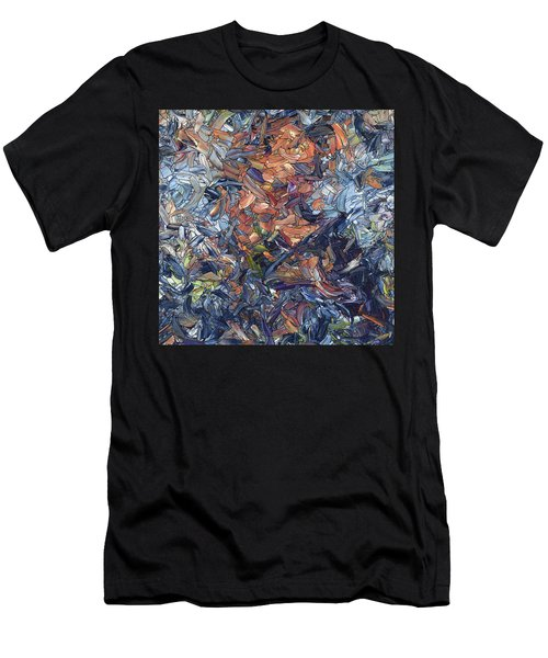 Fragmented Man - Square Men's T-Shirt (Athletic Fit)