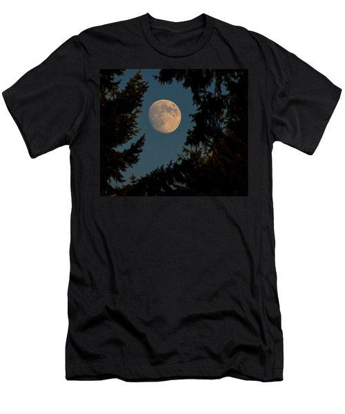Framed Moon Men's T-Shirt (Athletic Fit)