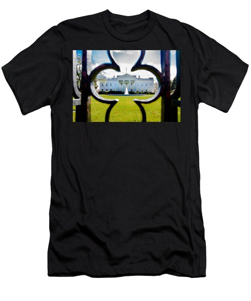 Framed Whitehouse Men's T-Shirt (Athletic Fit)