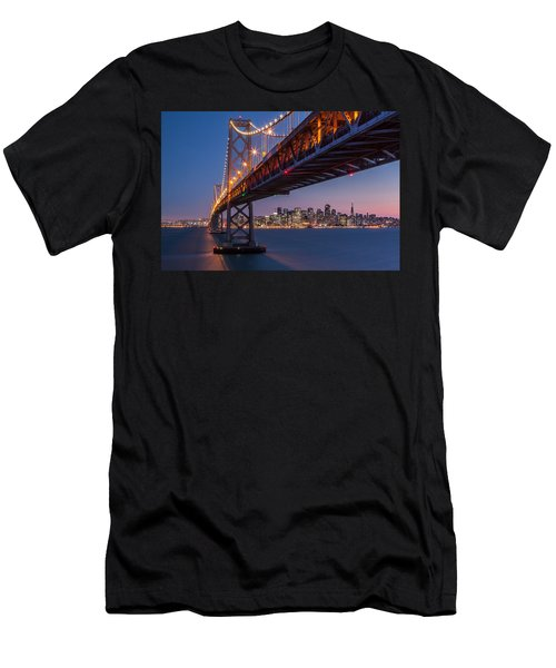 Men's T-Shirt (Slim Fit) featuring the photograph Framing San Francisco by Mihai Andritoiu