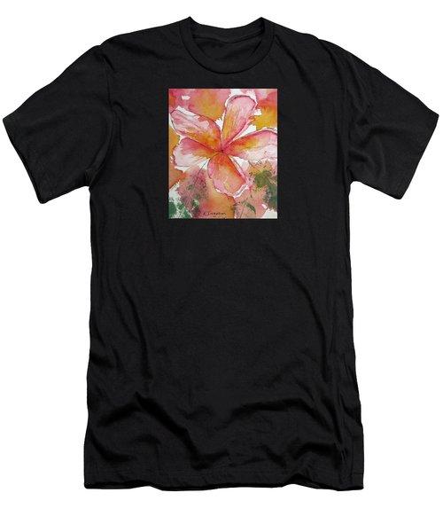 Frangipani Men's T-Shirt (Athletic Fit)