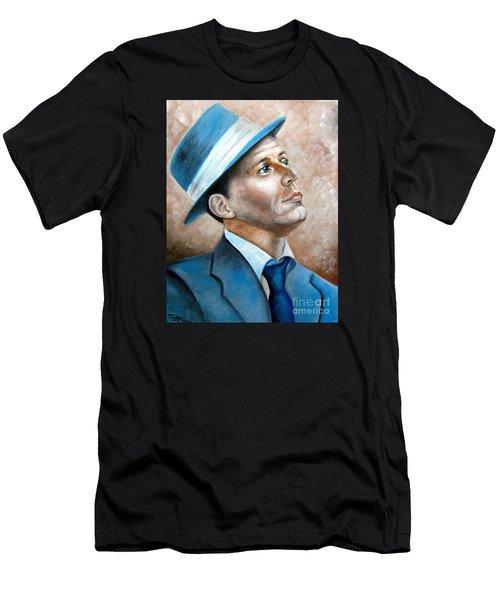 Frank Sinatra Ol Blue Eyes Men's T-Shirt (Athletic Fit)