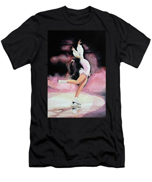 Men's T-Shirt (Athletic Fit) featuring the painting Free Spirit by Hanne Lore Koehler