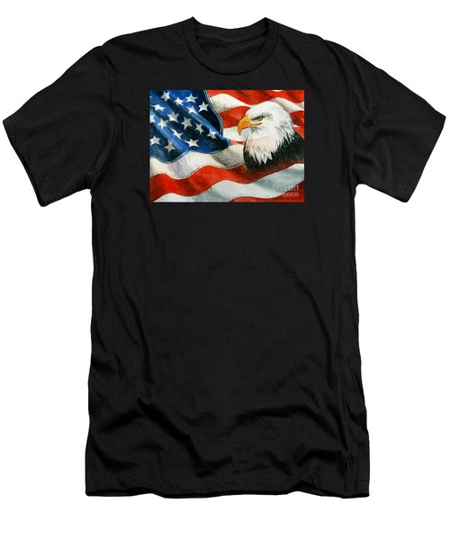 Freedom Men's T-Shirt (Athletic Fit)