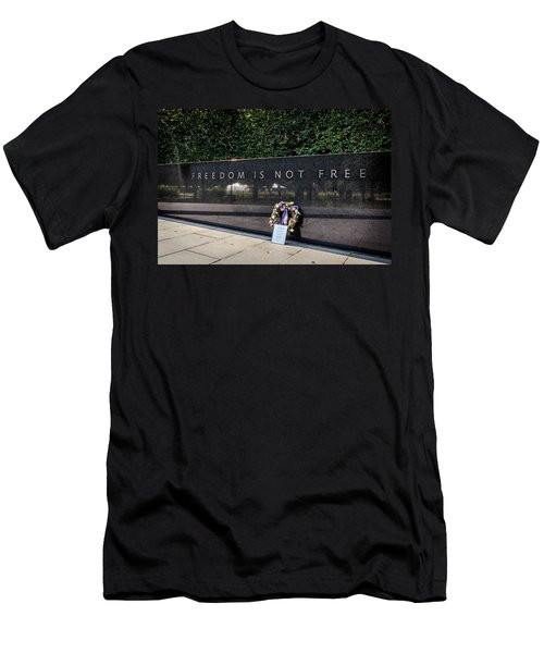 Freedom Is Not Free Men's T-Shirt (Athletic Fit)